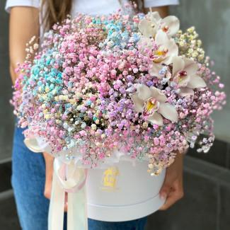 """Цветы в Коробке """"Где-то над..."""
