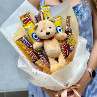 "Sweet Bouquet ""Сhocolate Bear"""