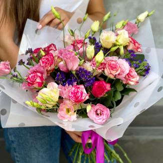 """Bouquet """"Pink Veil"""""""