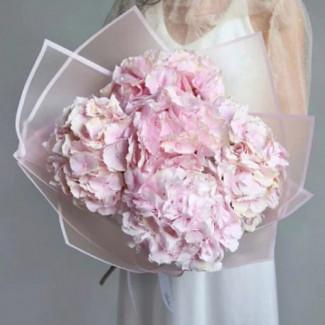 "Bouquet "" Pink Hydrangeas"""
