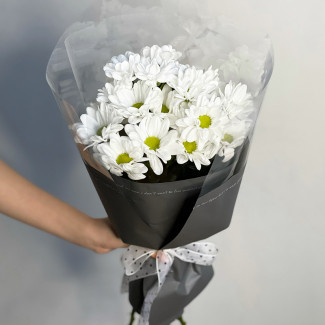 """Bouquet """"A Glass of Daisies"""""""