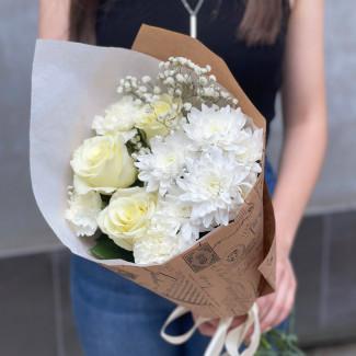 """Bouquet """"White Mix"""""""