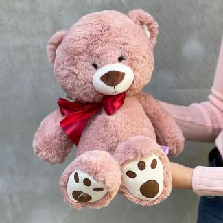 Mika Teddy Bear - Dusty Pink