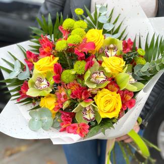 "Bouquet ""Tropical Island"""