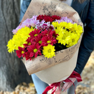 Bouquet of Colorful...