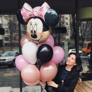 Balloon Monnie Mouse photo