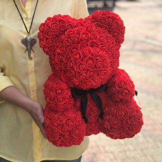 Flower Bear Red