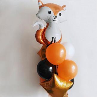 """Baloane cu Heliu """"Vulpoaică"""""""