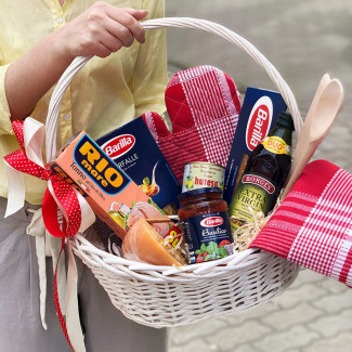 Barilla pasta basket photo
