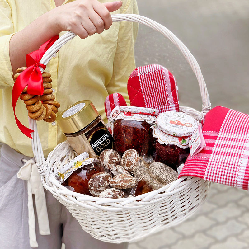 Gift basket for grandma photo