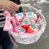 Basket with Kinder photo