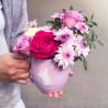 Кружка с цветами фото