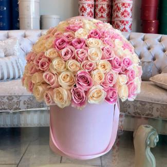 """Цветы в Коробке """"Розовая..."""
