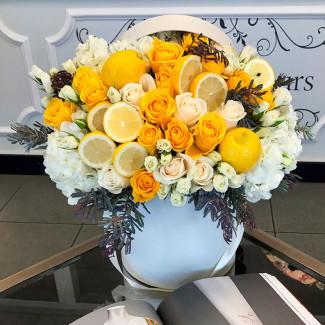 """Flowers in a Box """"Lemonade"""""""