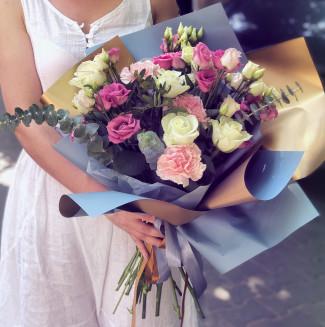 """Bouquet """"Blue gold"""""""