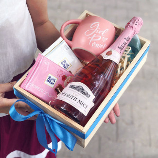 "Gift Box ""Pink Rulezzz"""