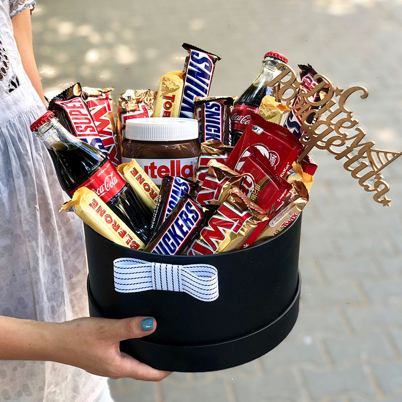 Box of sweets photo