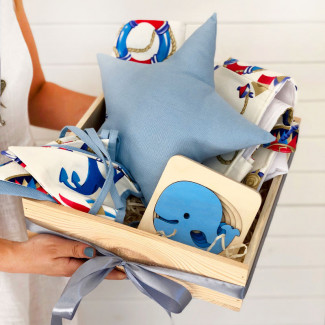 "Kids' Gift Box ""Moby Dick"""
