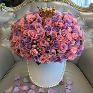 """Цветы в Коробке """"Королева..."""