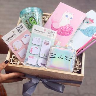"""Gift Box """"Kawai Cat"""""""