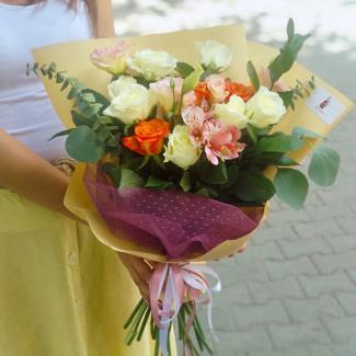 "Bouquet ""Sleepy Lion"""