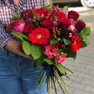"""Bouquet """"Burgundy Sunset"""""""