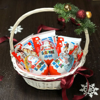 "Basket ""Kinder Surprise Maxi"""