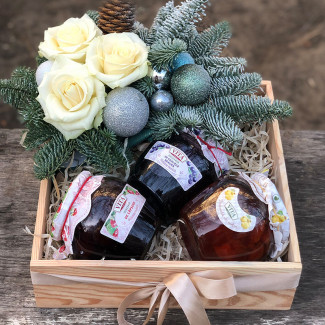 Gift Box with Jam