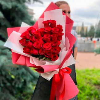 Inima din Trandafiri Roșii
